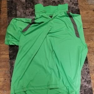 Rec tech golf shirt